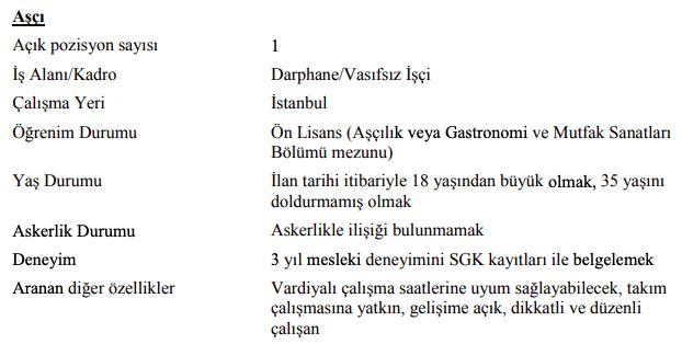 Darphane ve Damga Matbaası Genel Müdürlüğü 47 İşçi Personel Alımı İlanları 2